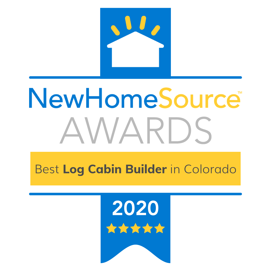 Dusrango based TLC Log Homes awarded best log cabin builder in Colorado for 2020 by New Home Source.